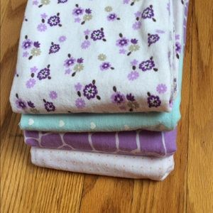 Carter's baby girl blankets